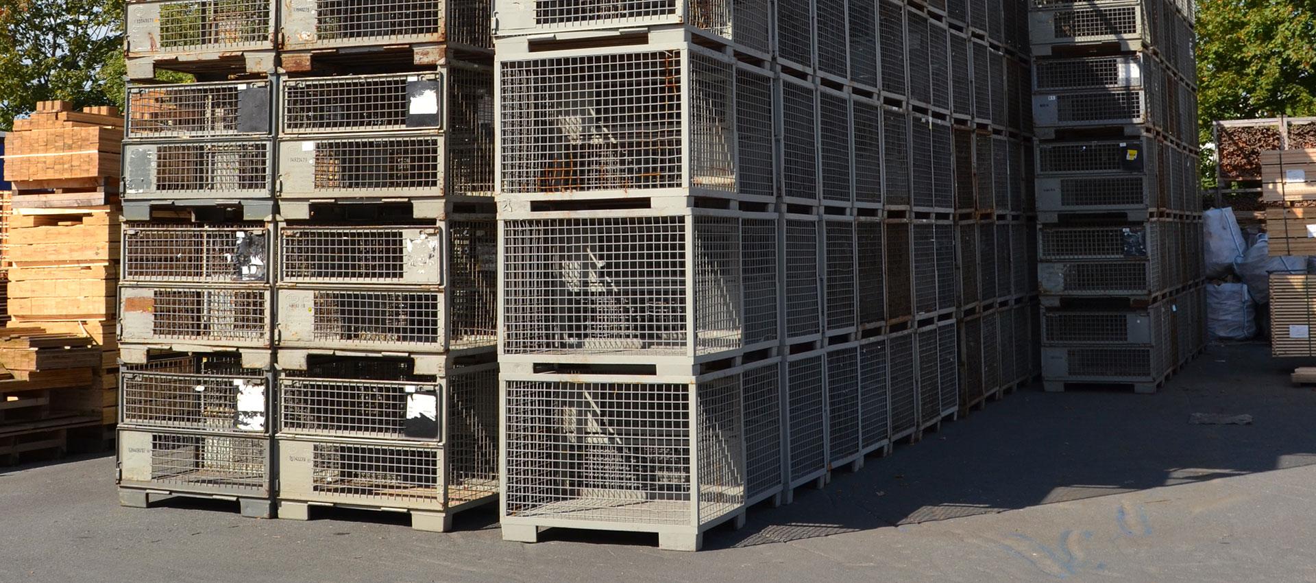 Euro Gitterboxen