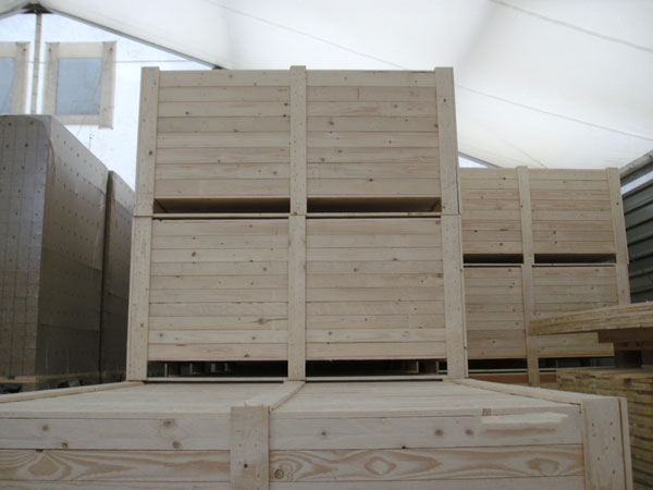 Holzverpackung von APL