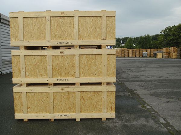 Holzverpackung